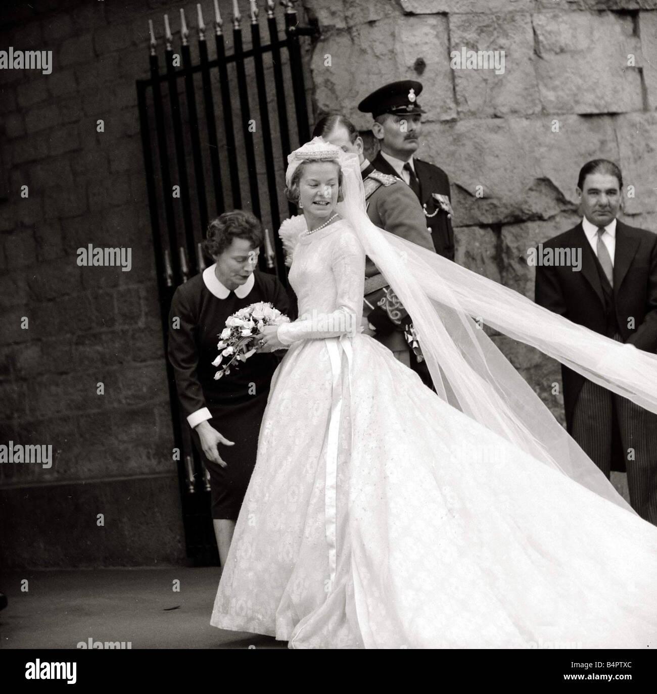 The Wedding Of The Duke And Duchess Of Kent June 1961