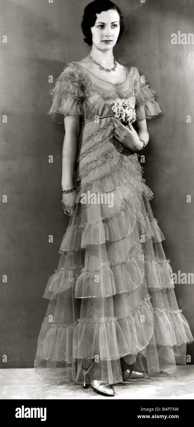 Women?s 1930s evening fashion advise dress in everyday in 2019
