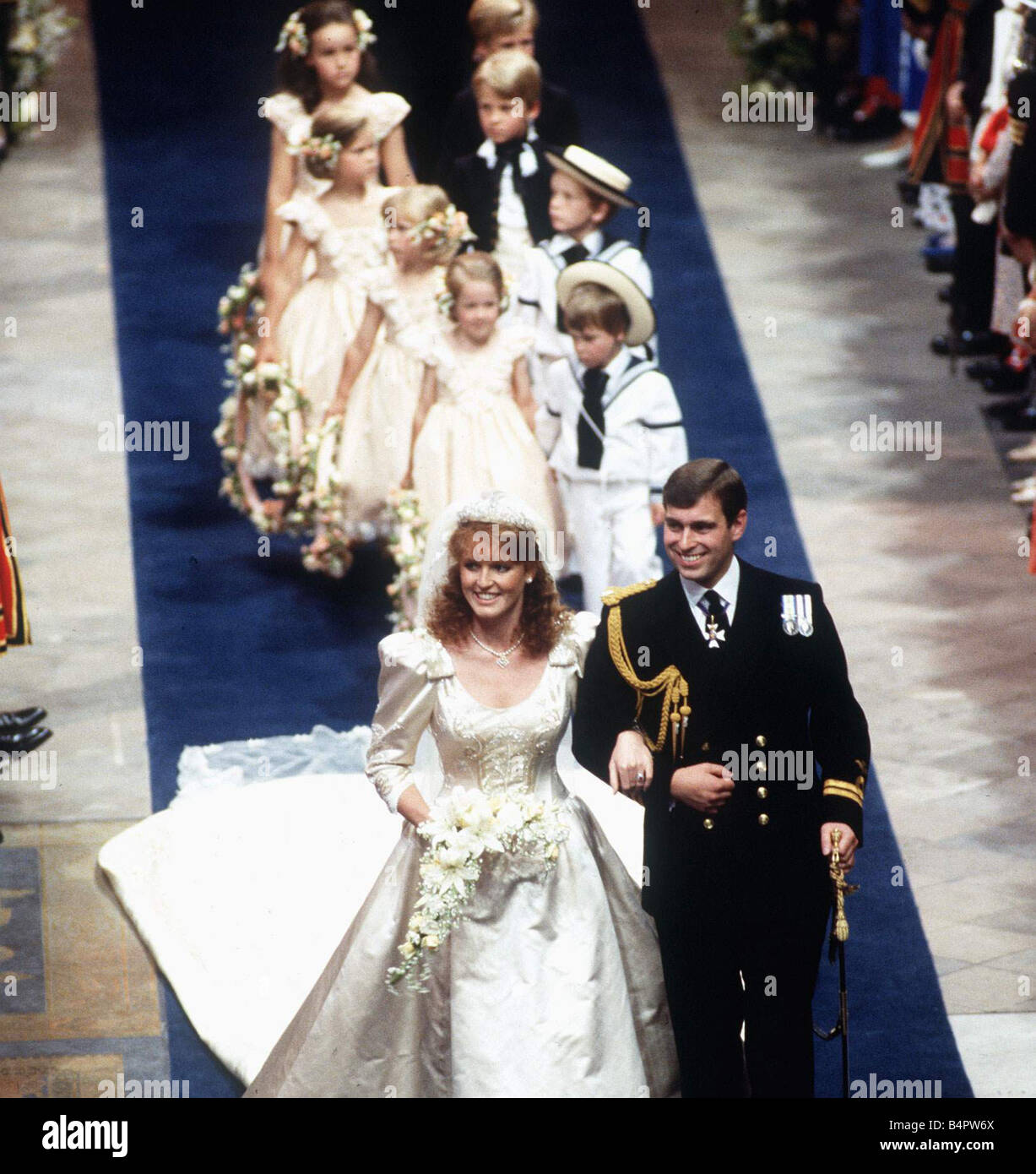Duchess Of York Wedding Stock Photos & Duchess Of York Wedding Stock ...