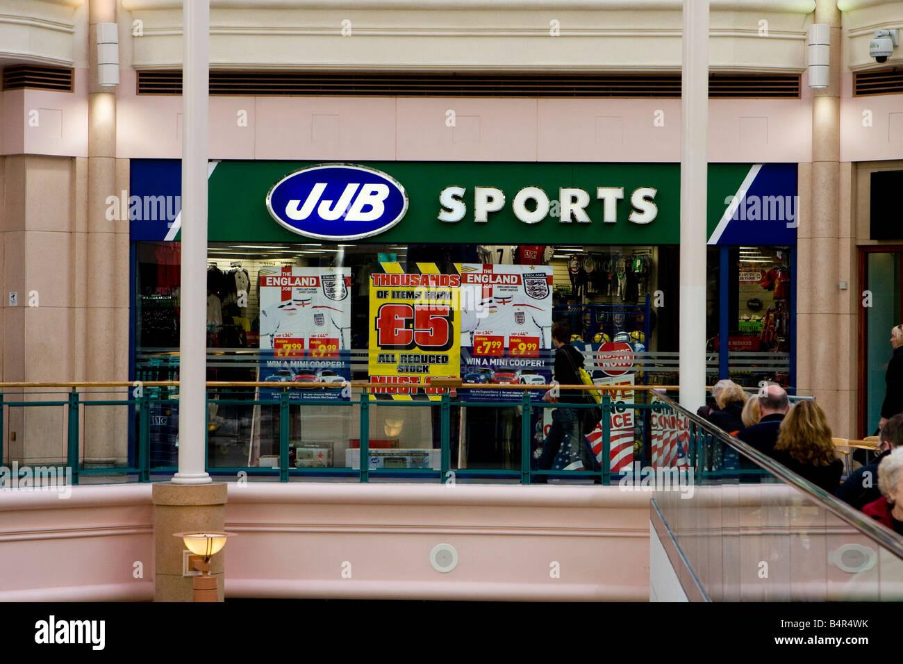 JJB Sports - Stock Image
