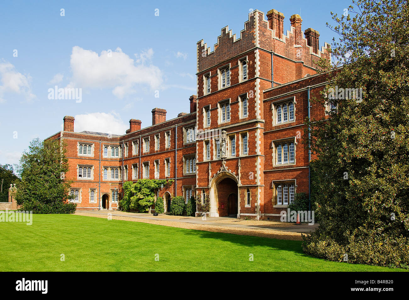 Jesus College.Cambridge. - Stock Image