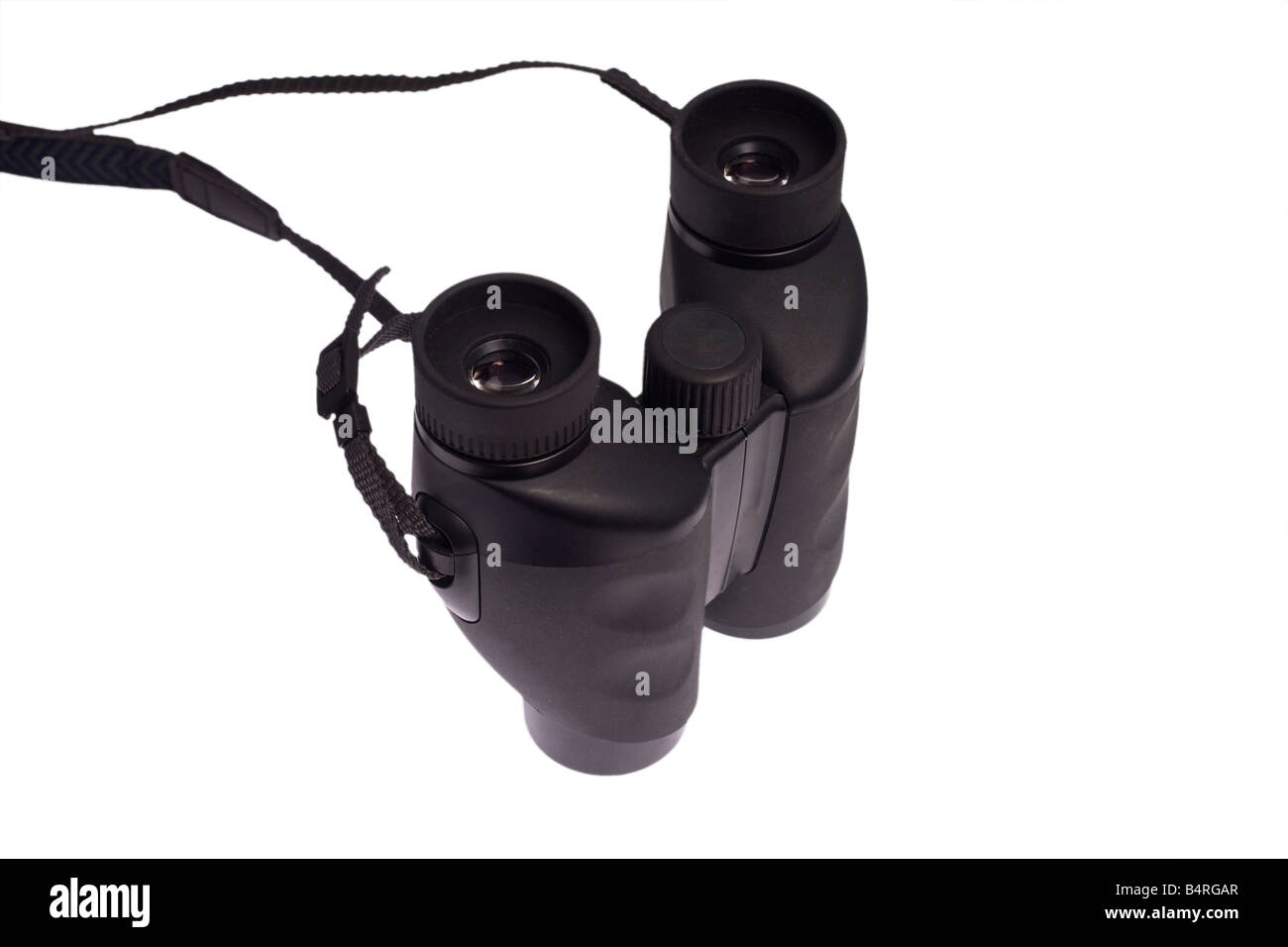 a pair of binoculars isolated on a white background Stock Photo