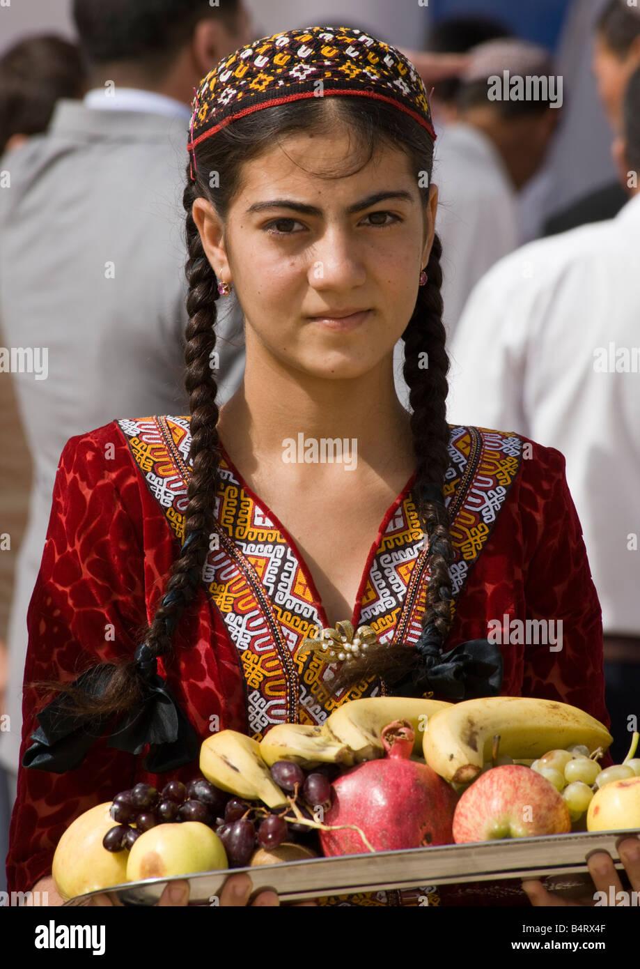 Beautiful turkmen girl