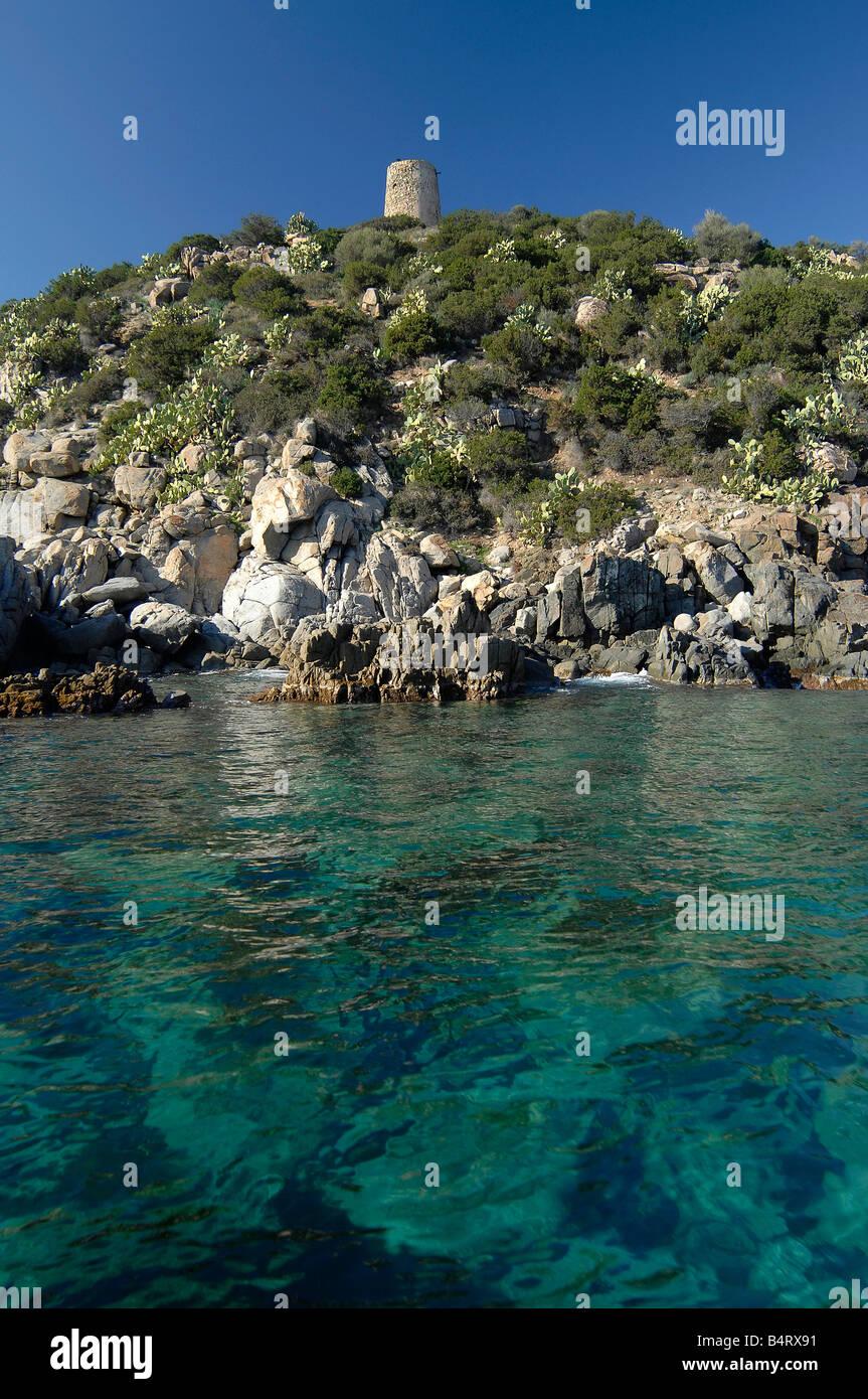 31dec9150409e Cala Regina creek Quartu Sant Elena Sardinia Italy Stock Photo ...