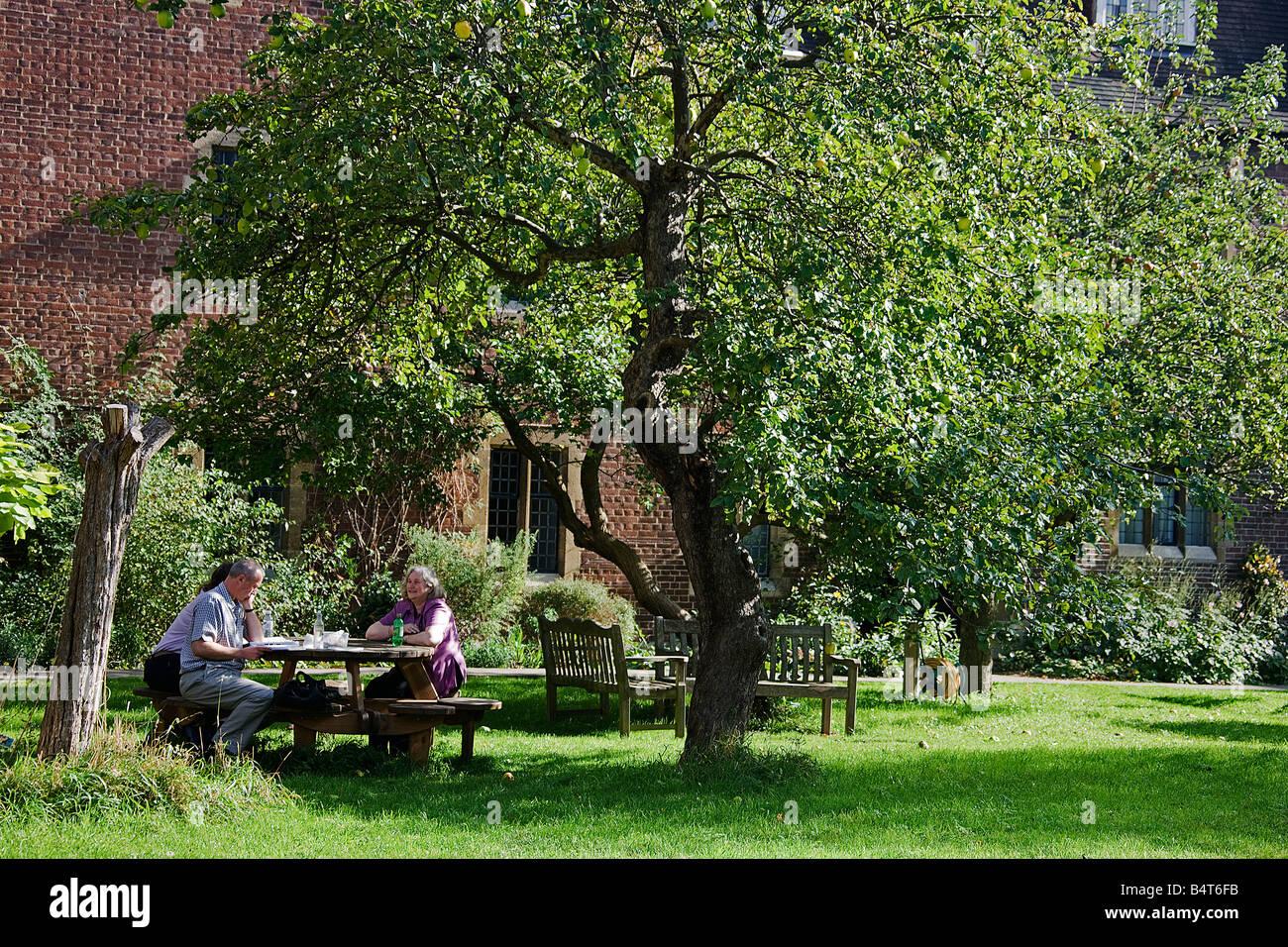 Westcott house.Cambridge. - Stock Image