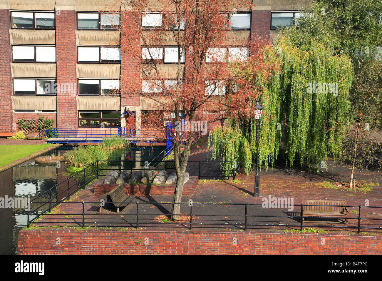 City Of London School For Girls England St Giles Terrace Barbican Stock Photo Alamy