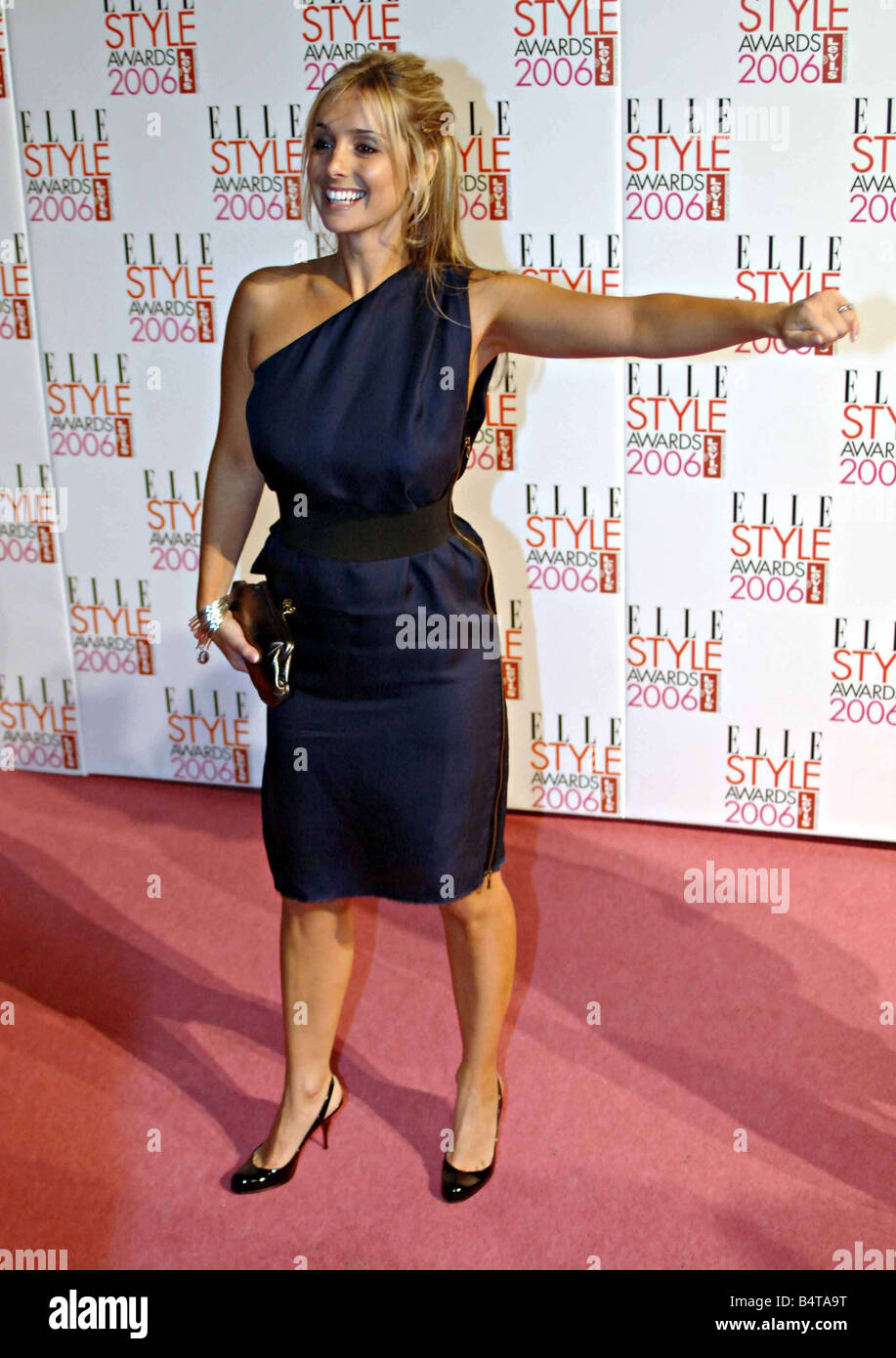 Louise Redknapp formerly Louise Nurding from Eternal arrives for the Elle Fashion Awards in Brick Lane East London - Stock Image