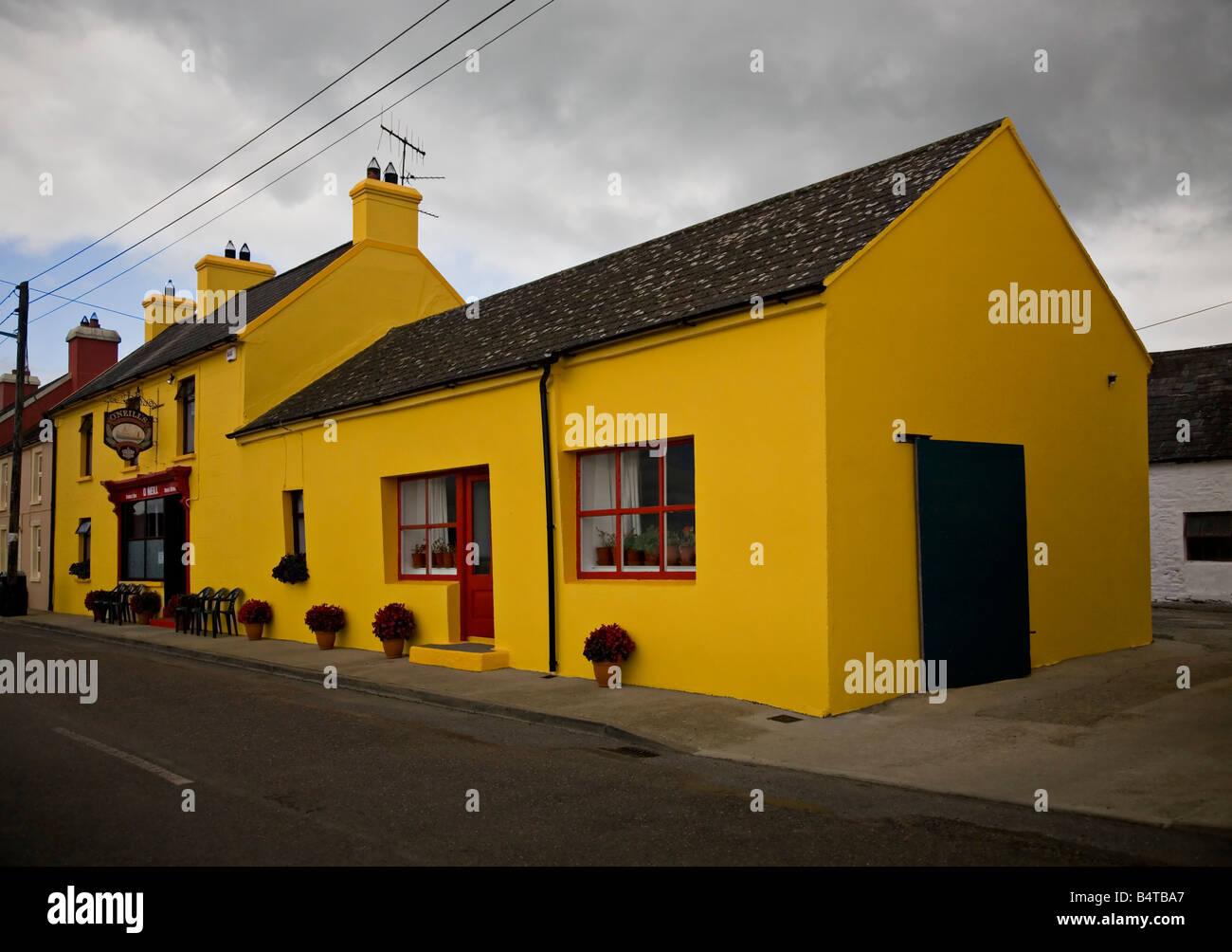 Butlerstown Pub West Cork Ireland Stock Photo