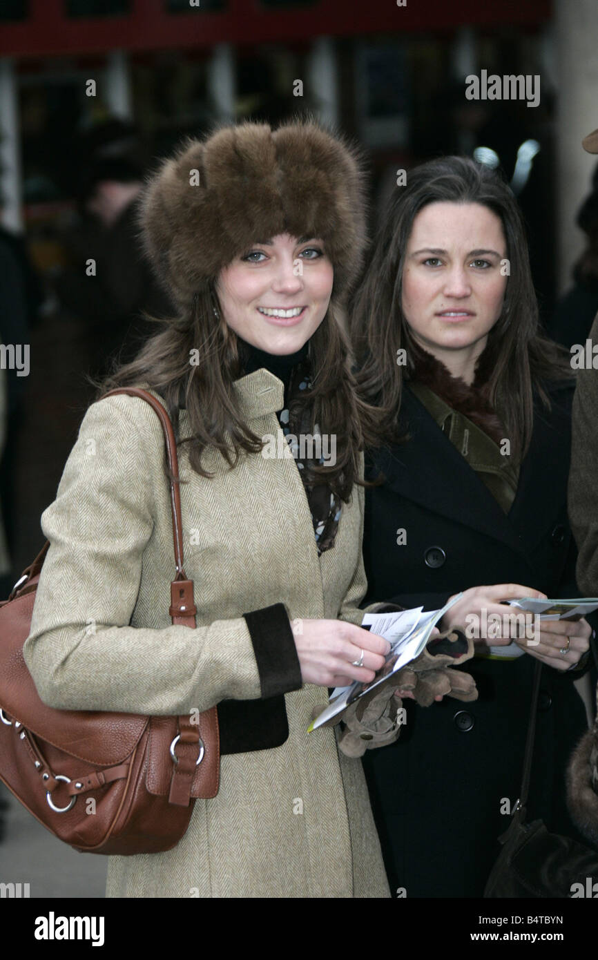 Prince Williams girlfriend Kate Middleton seen here ...