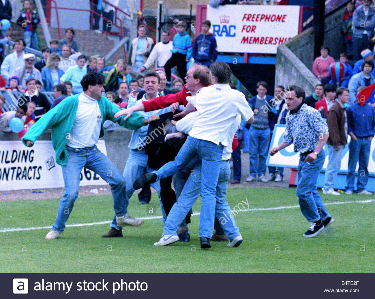 Football Violence Birmingham Stock Photos & Football