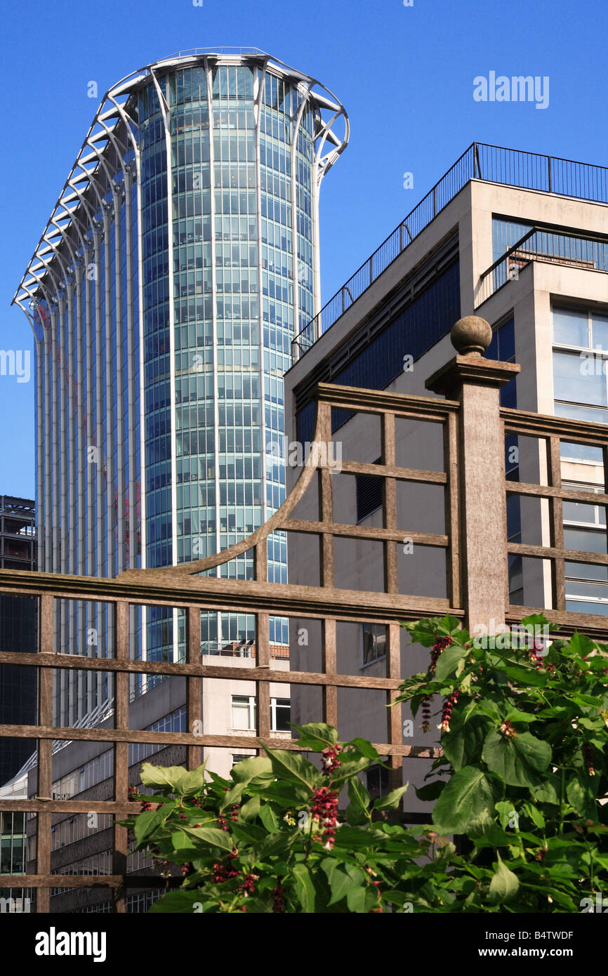 Citypoint Moorgate Tower Block City of London England - Stock Image