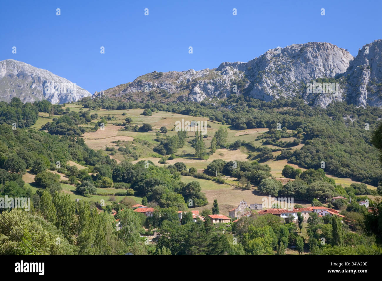 Picos de Europa mountains - Stock Image