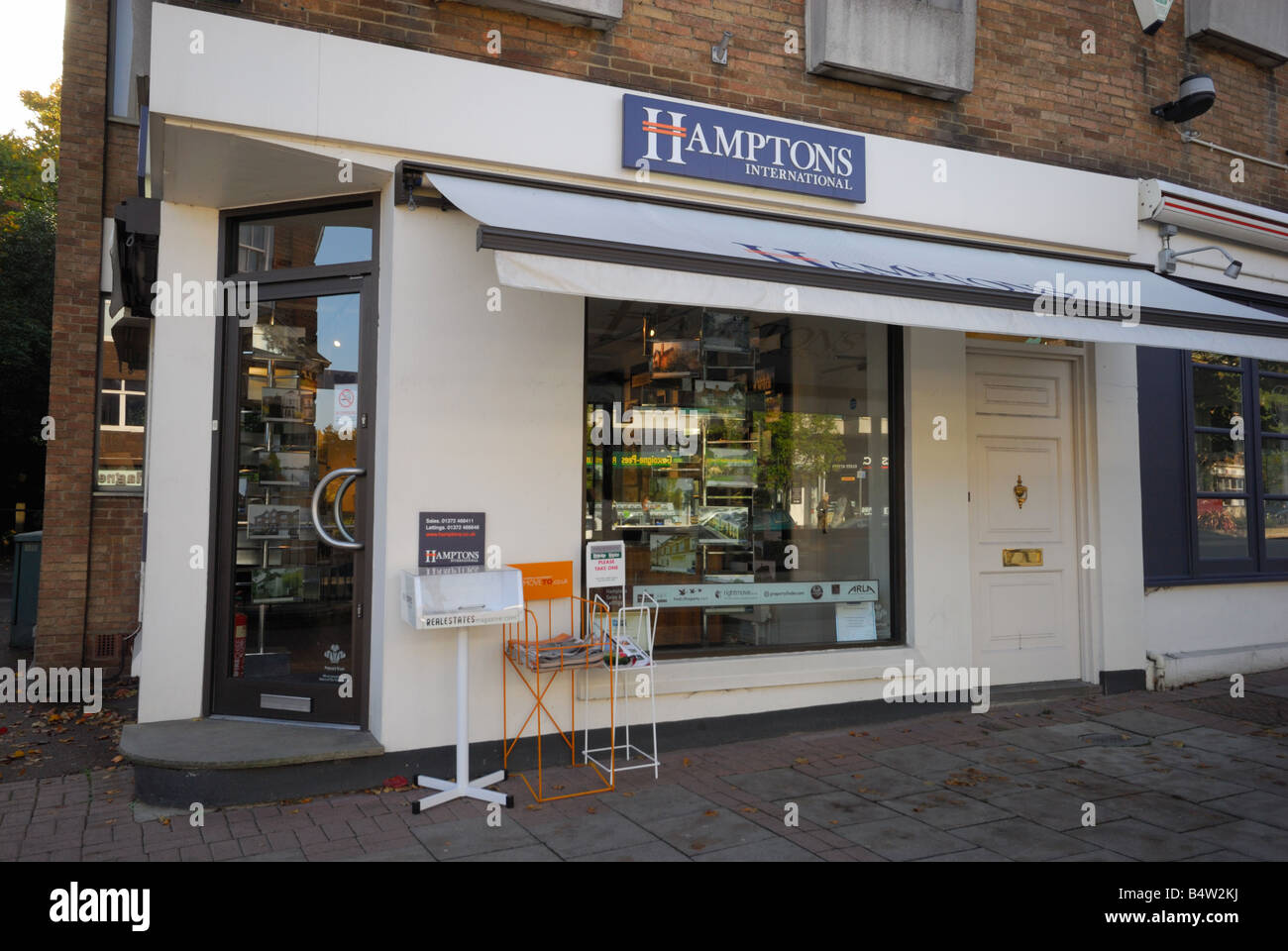 Hamptons Estate Agents - Stock Image