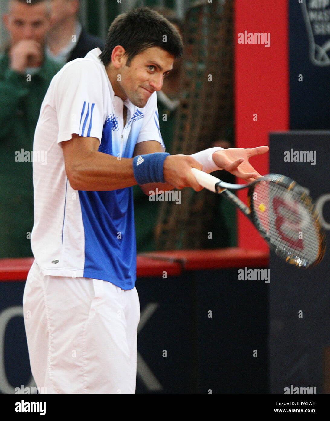 Novak Djoković from Belgrade, Serbia, Would Number 3 tennis player - Stock Image