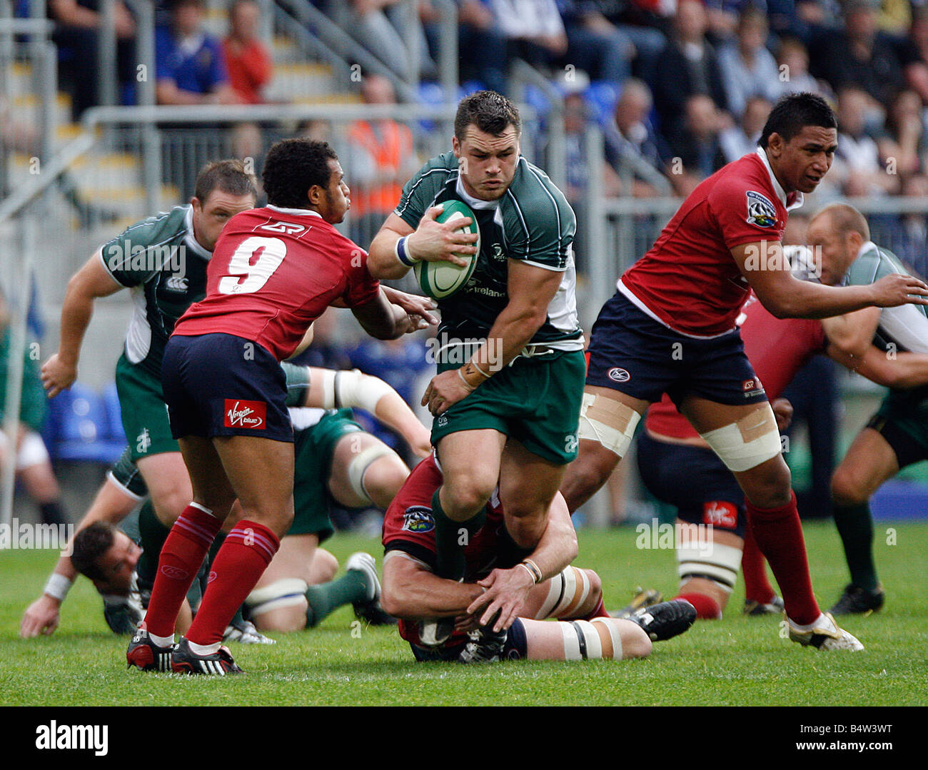 Cian Healy - Leinster Rugby (Irish Team) - Stock Image