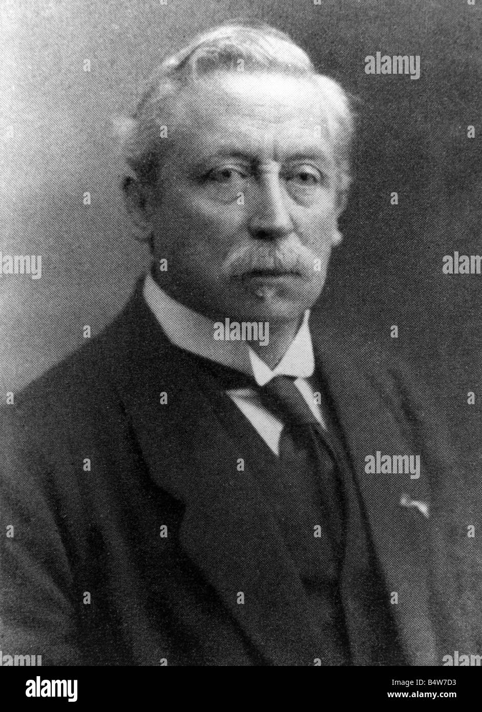 Eijkman, Christiaan, 11.8.1858 - 5.11.1930, Dutch physician, pathologist, bacteriologist, hygienist, portrait, photograph, - Stock Image