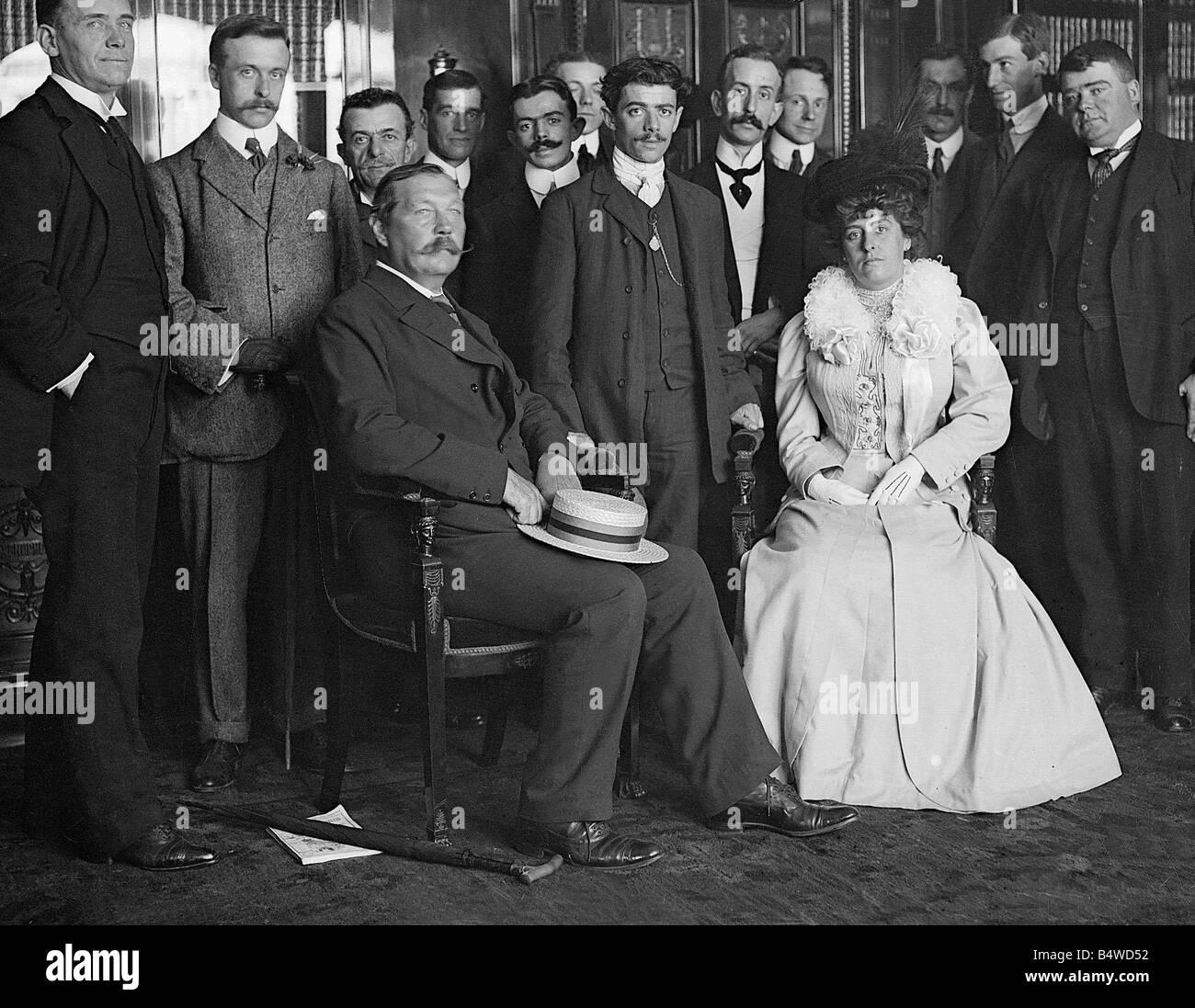 Birthday Sir Arthur Conan Doyle born 22 May 1859 Author Sir Arthur Conan Doyle 1858 1930 Author of the Sherlock - Stock Image