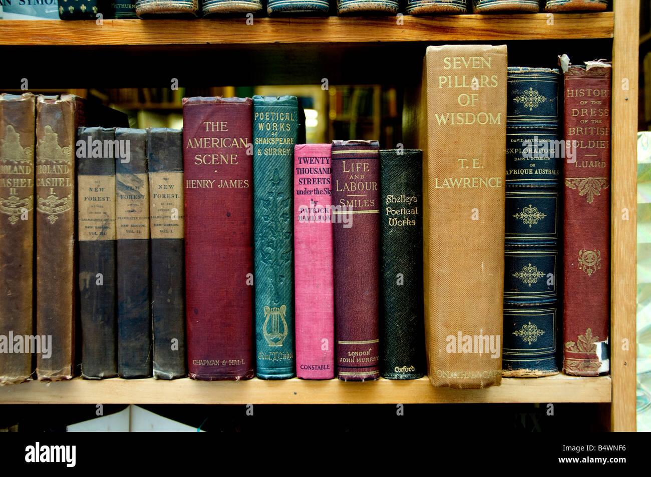 Soho West End Bookshop bookstore - Stock Image