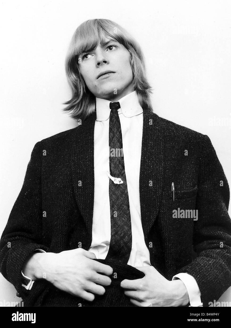 David Bowie Pop Star when he was known as David Jones - Stock Image