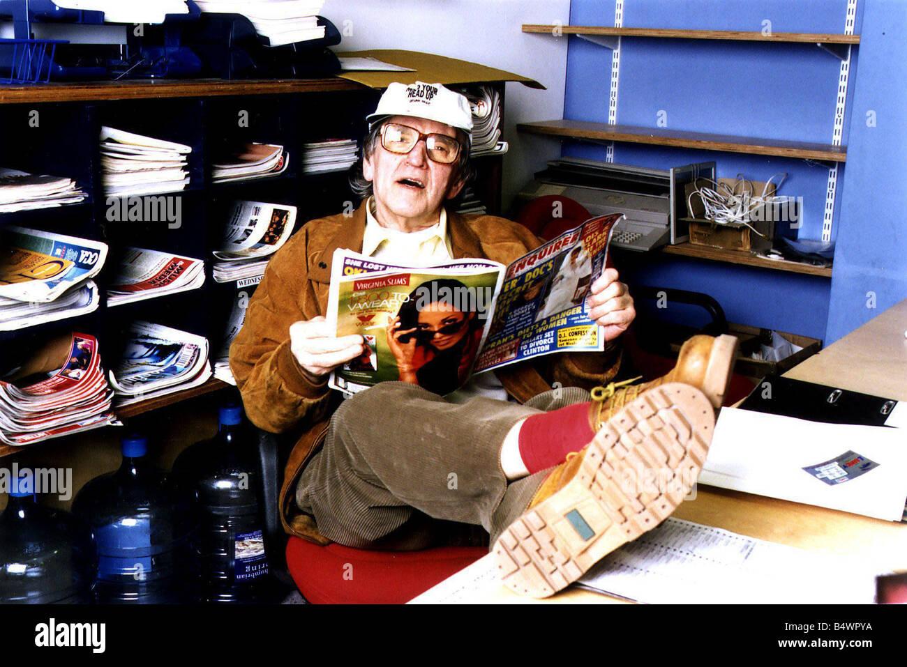 Disc jockey Alan Freeman - Stock Image