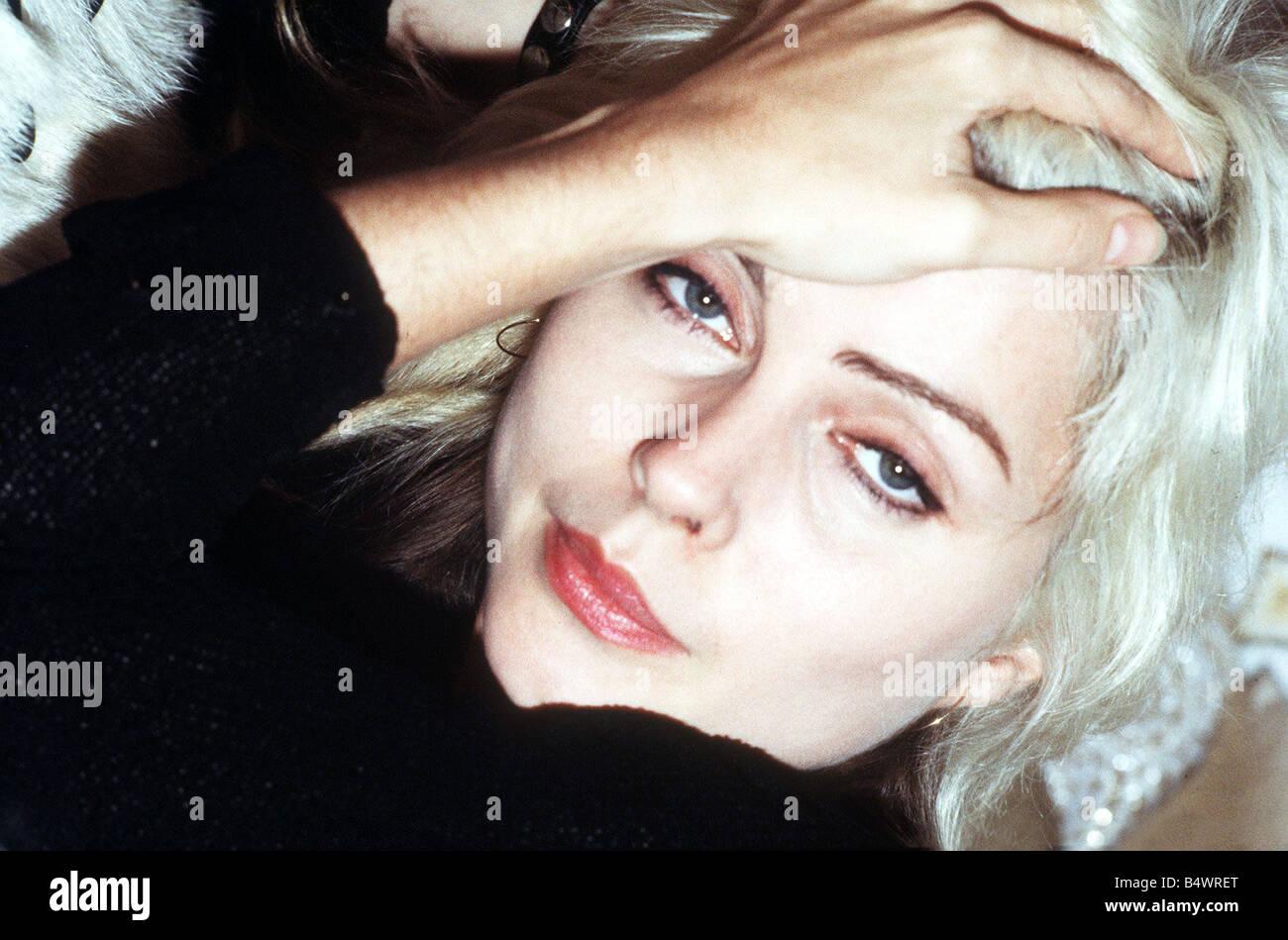 Debbie Harry lead singer of Blondie August 1978 - Stock Image