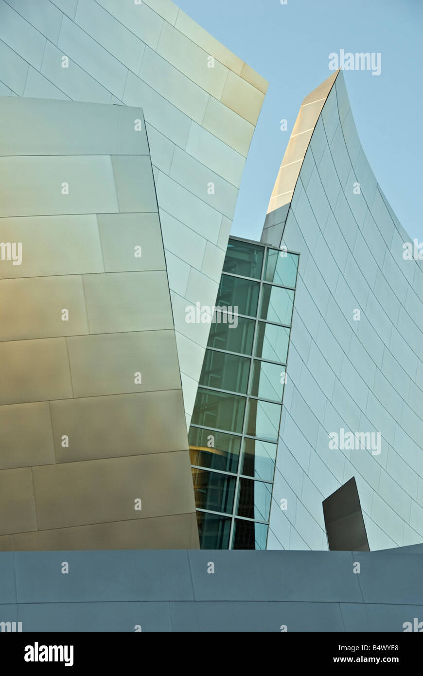 The Walt Disney Concert Hall at 111 South Grand Avenue in Downtown Los Angeles, California Los Angeles Music Center - Stock Image