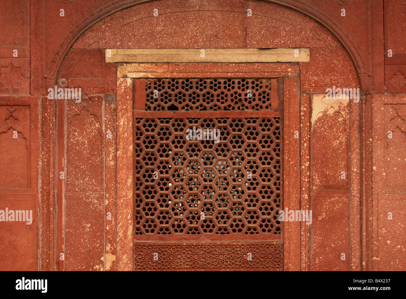MUGHAL ARCHITECTURES IN DELHI INDIA - Stock Image