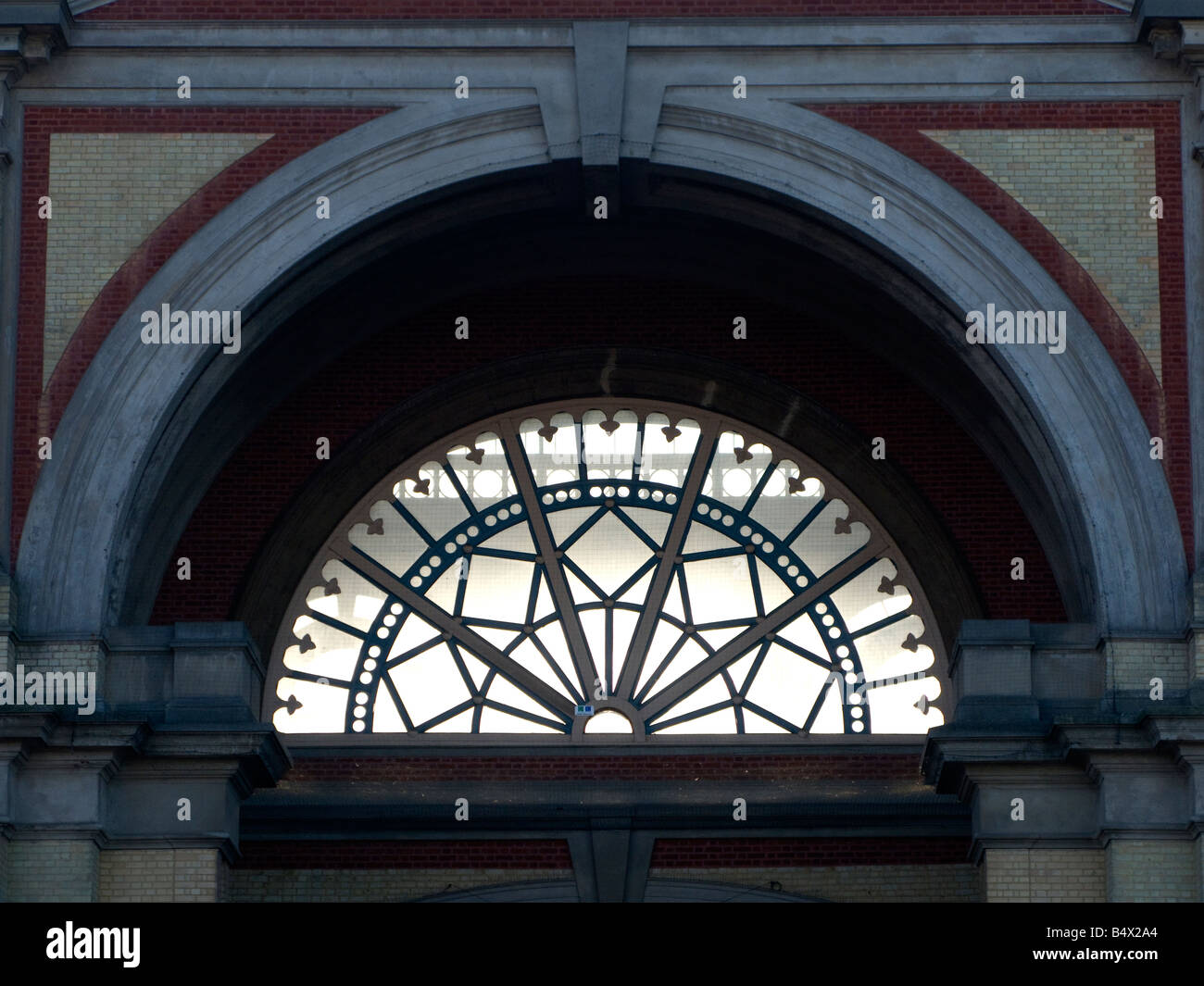 Exterior of Alexandra Palace ice rink - Stock Image