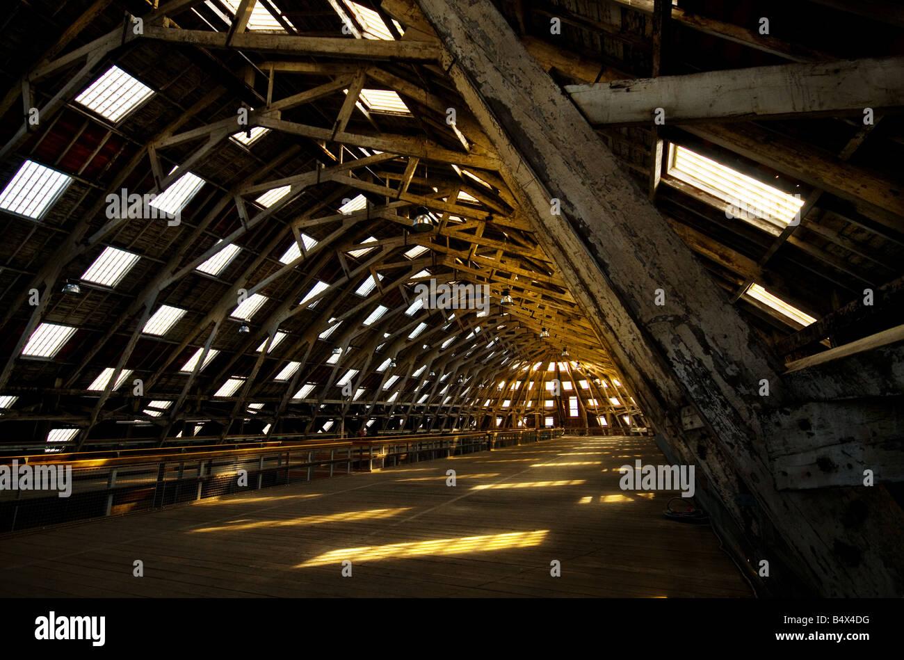 No 3 Slip Cover Chatham Historic Dockyard in Kent. Stock Photo