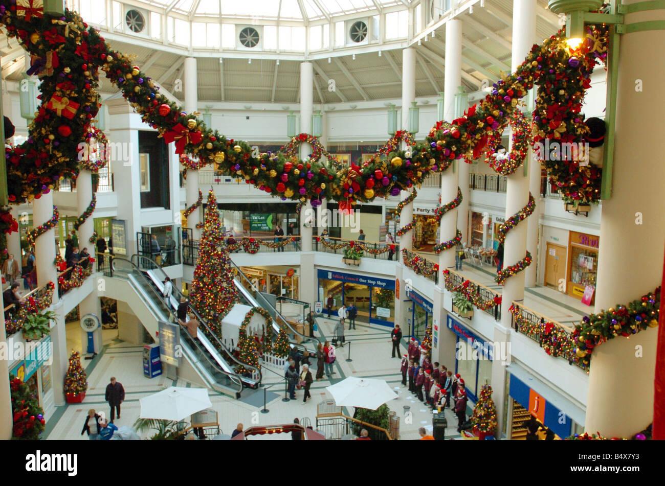 Falkirk Shops For Christmas Shopping Callendar Square Shopping Mall