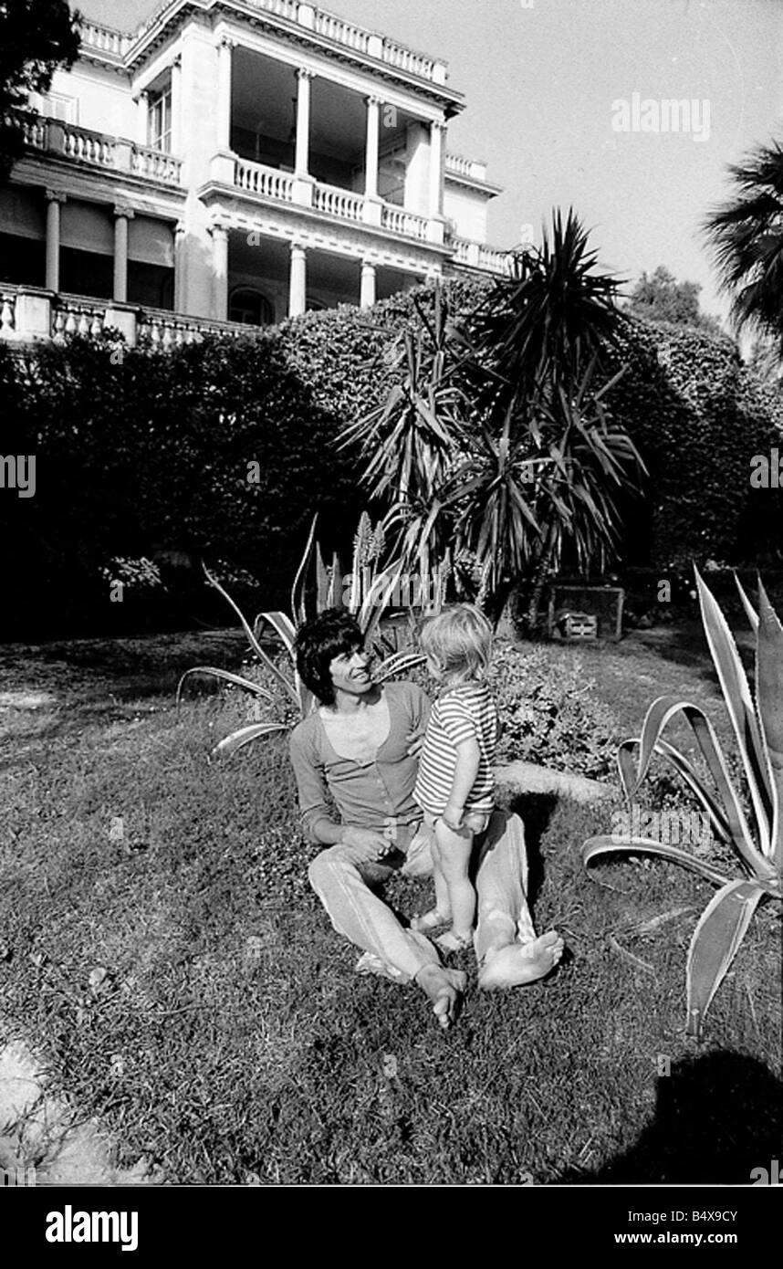 Keith Richard and Anita Pallenberg s South of France residence - Stock Image
