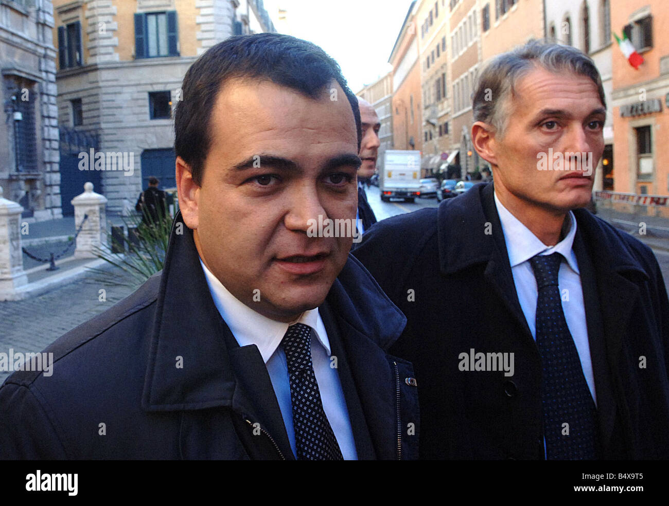 Alexander Litvinenko Murder November 2006 Italian professor Mario Scaramella the last person to dine with former - Stock Image