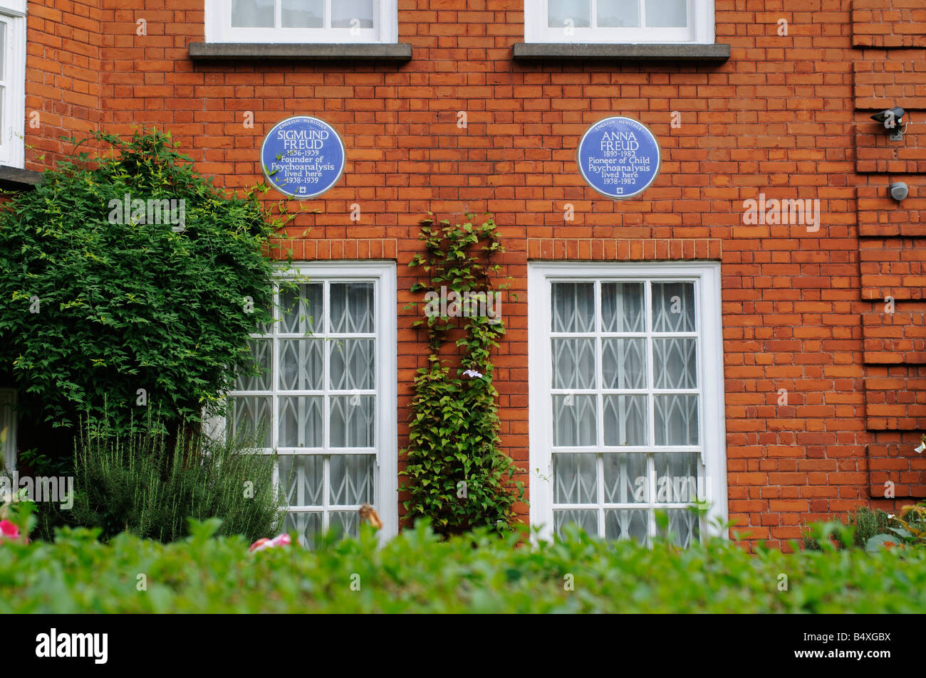Freud's Museum in London - Stock Image