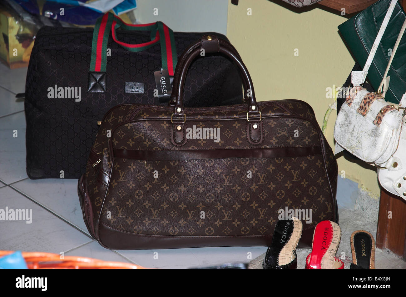 6585ce441658 Fake designer bags for sale Stock Photo  20252813 - Alamy