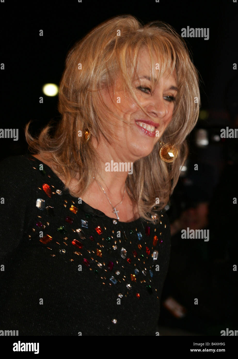 Carole Malone newspaper columnist enters the Celebrity Big Brother house 3rd January 2007 - Stock Image