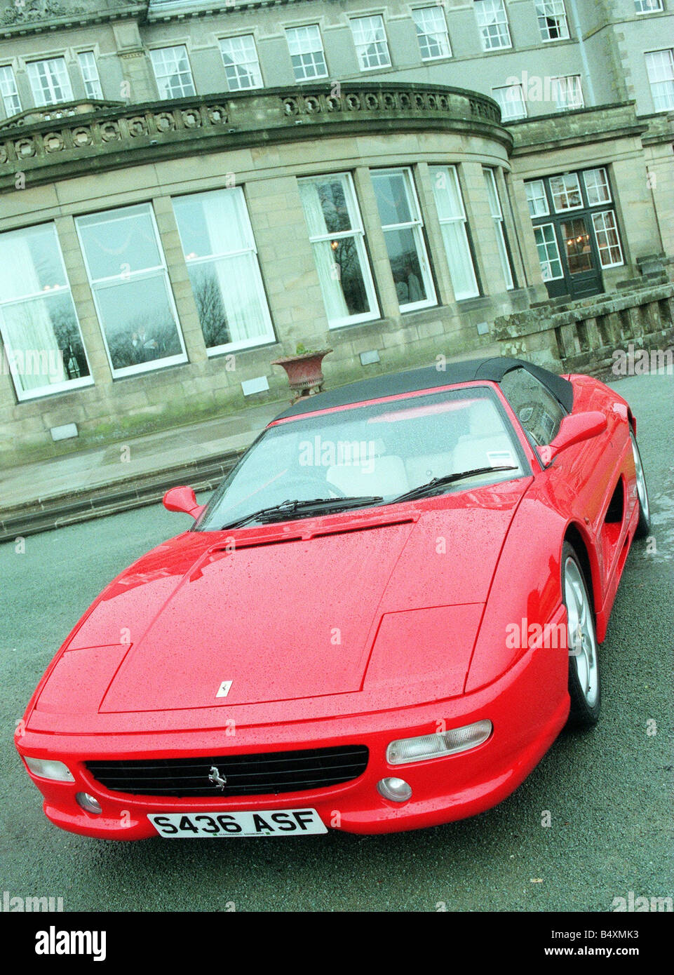 Ferrari Cars Lineup At The Gleneagles Hotel Pictured Is The 355 FI Spider