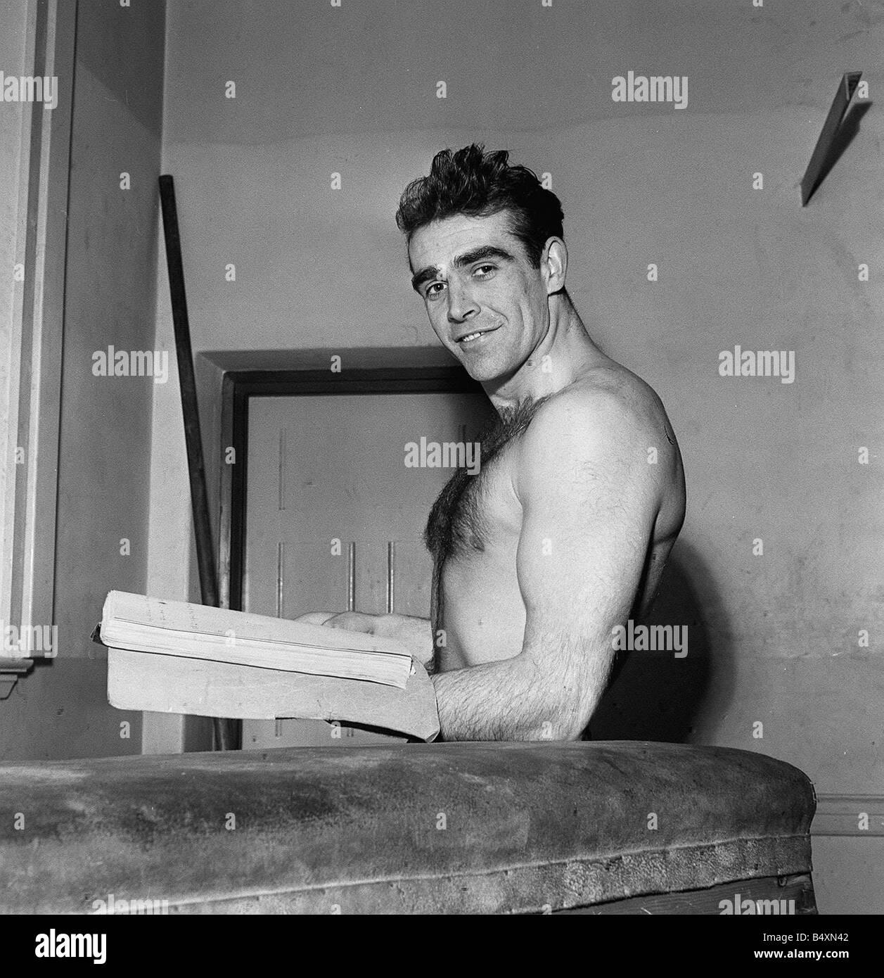 sean connery 1957 stock photo 20256322 alamy
