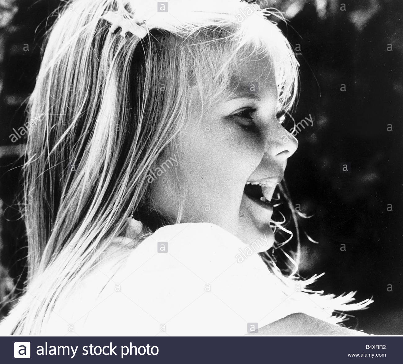 Louise Brown First Test Tube Baby July 1984 Anniversaries On this day 25 July 1978 The world s first test tube baby - Stock Image