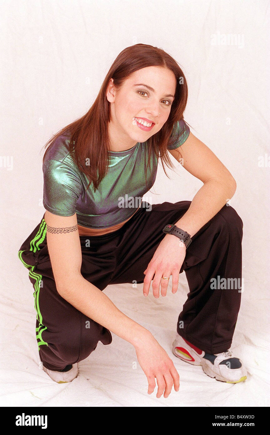 Melanie Chisholm singer with the all woman pop group Spice Girls - Stock Image