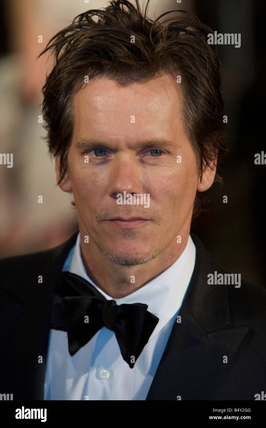 Kevin Bacon Attending BFI 52 London Film Festival Opening Gala Frost Nixon Red Carpet Odeon cinema Leicester Square - Stock Image