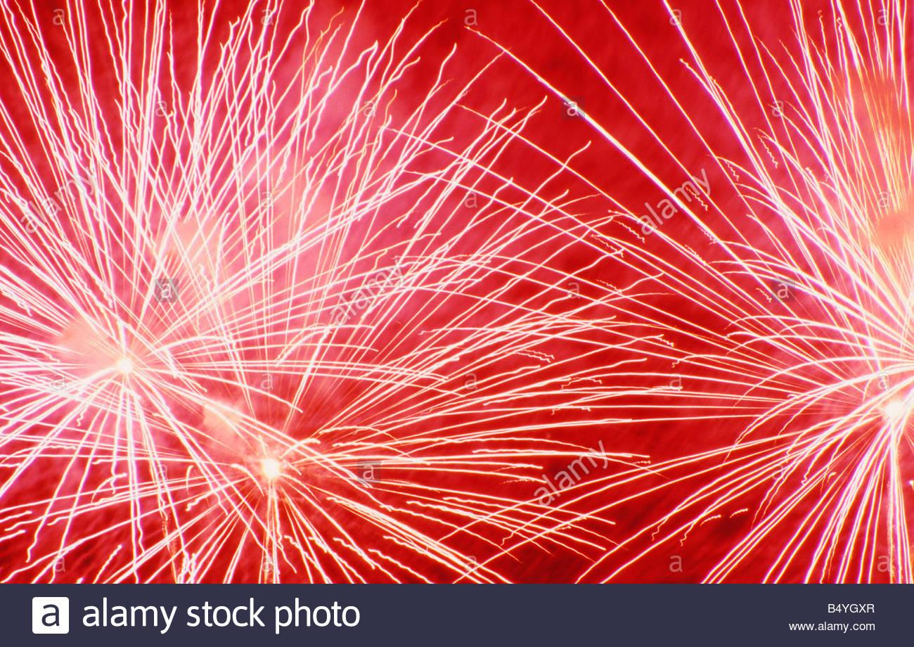 fireworks - Stock Image