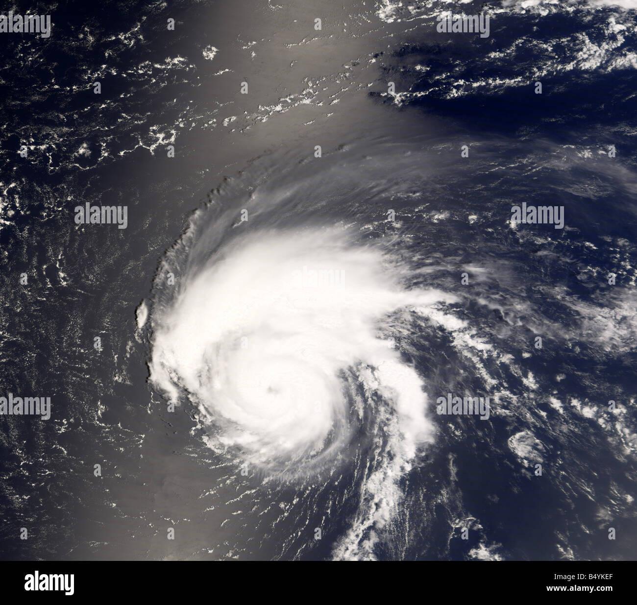Tropical Storm Bertha, Cape Verde Islands, off coast of Western Africa - Stock Image