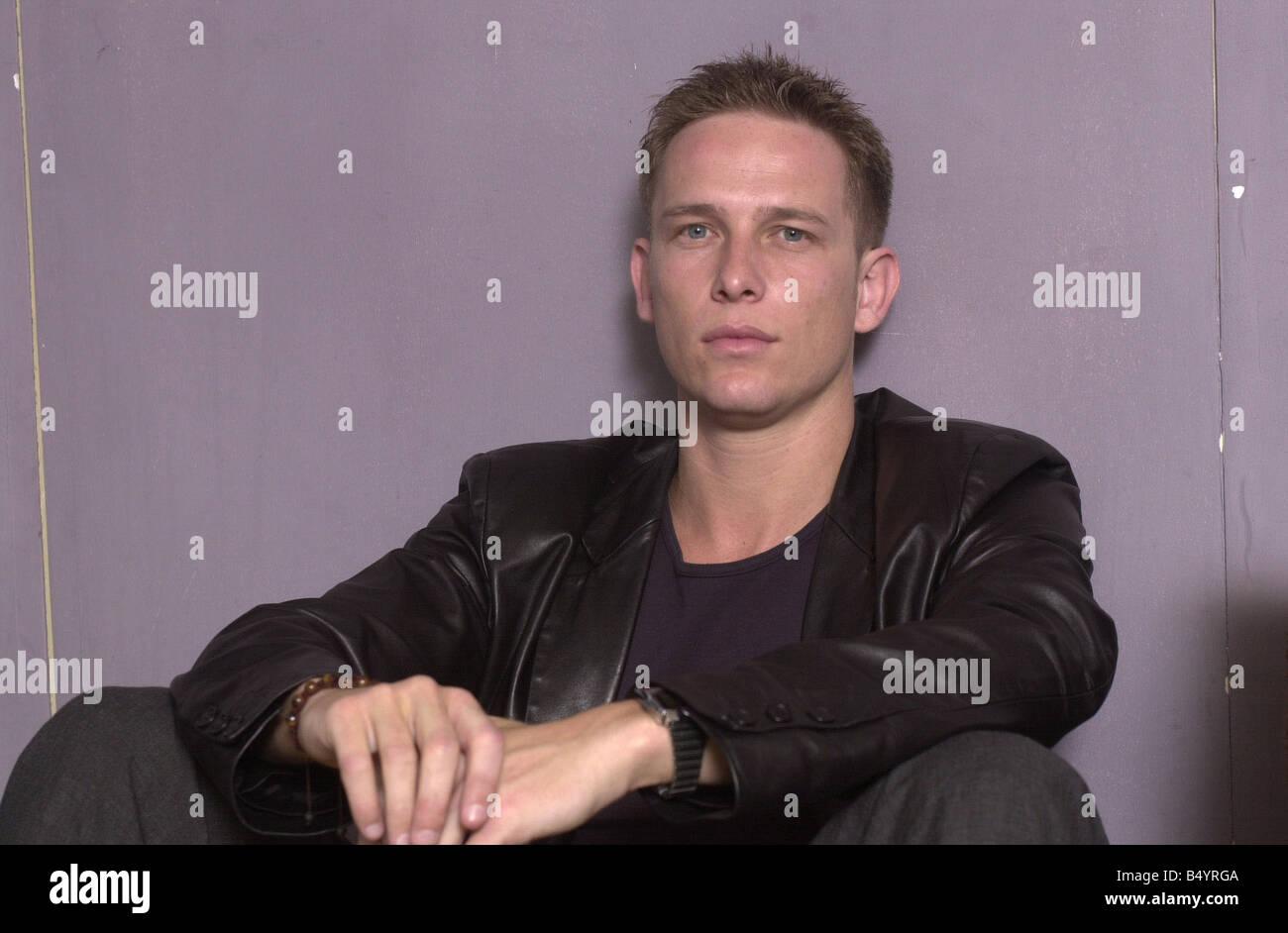JONATHAN KERRIGAN August 2000 Actor NINA MYSKOW INTERVIEW Mirrorpix - Stock Image