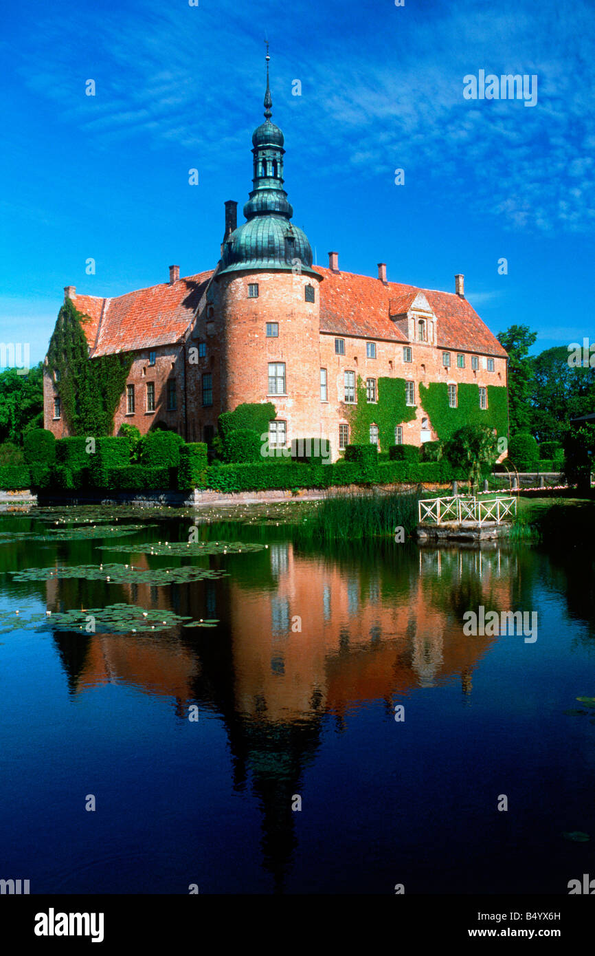 Vittskovle Castle at Kristianstad in Skåne Province of Sweden - Stock Image