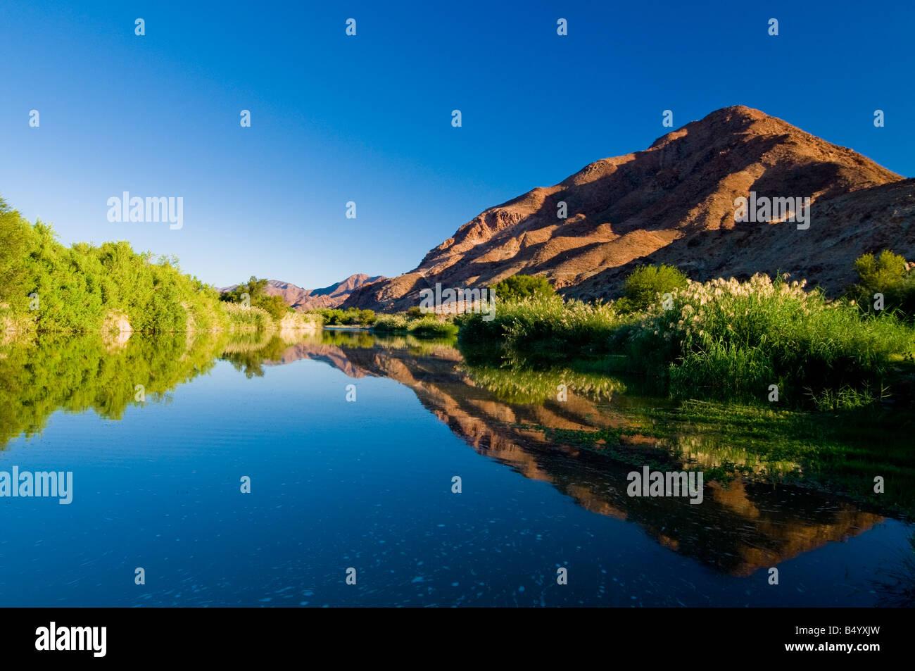 Oranje River, Richtersveld national park, Northern Cape, South Africa - Stock Image