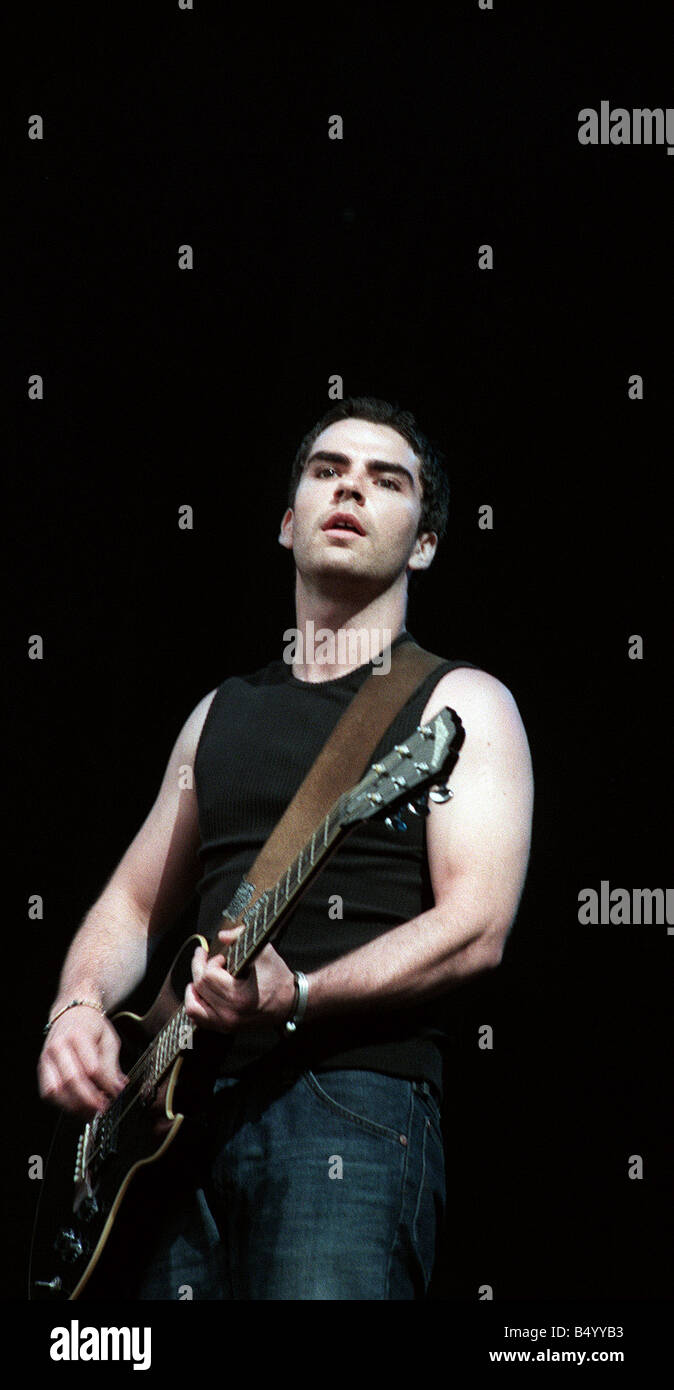 Kelly Jones of the Stereophonics performing at T in the Park June 1999 - Stock Image