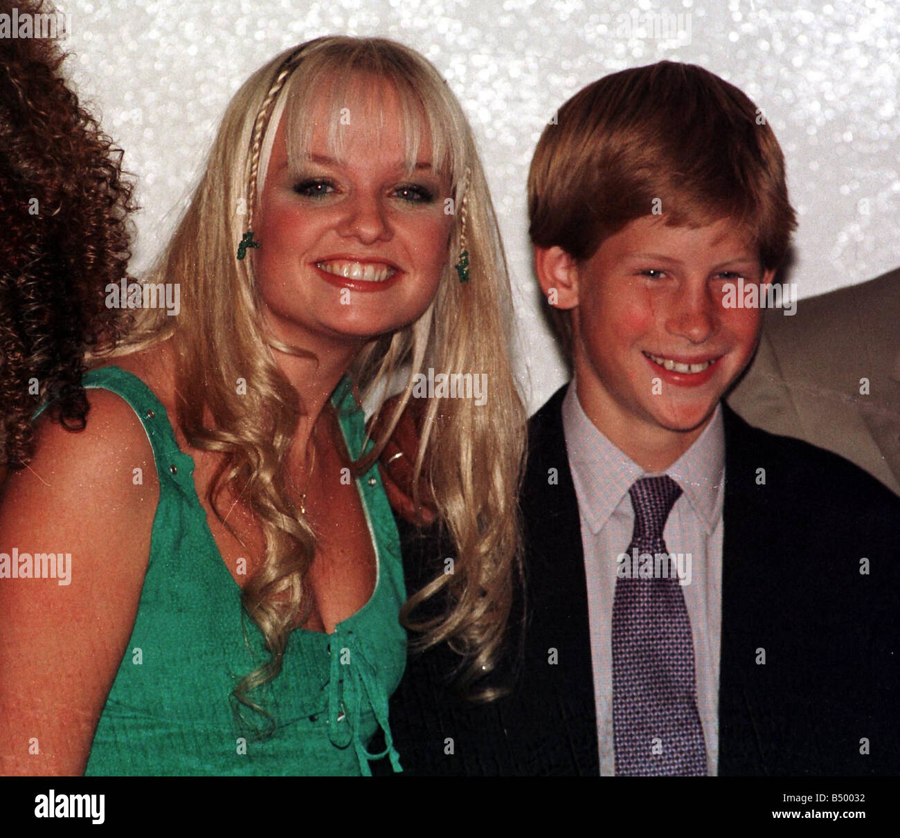 Prince Harry With Spice Girl Baby Spice November 1997