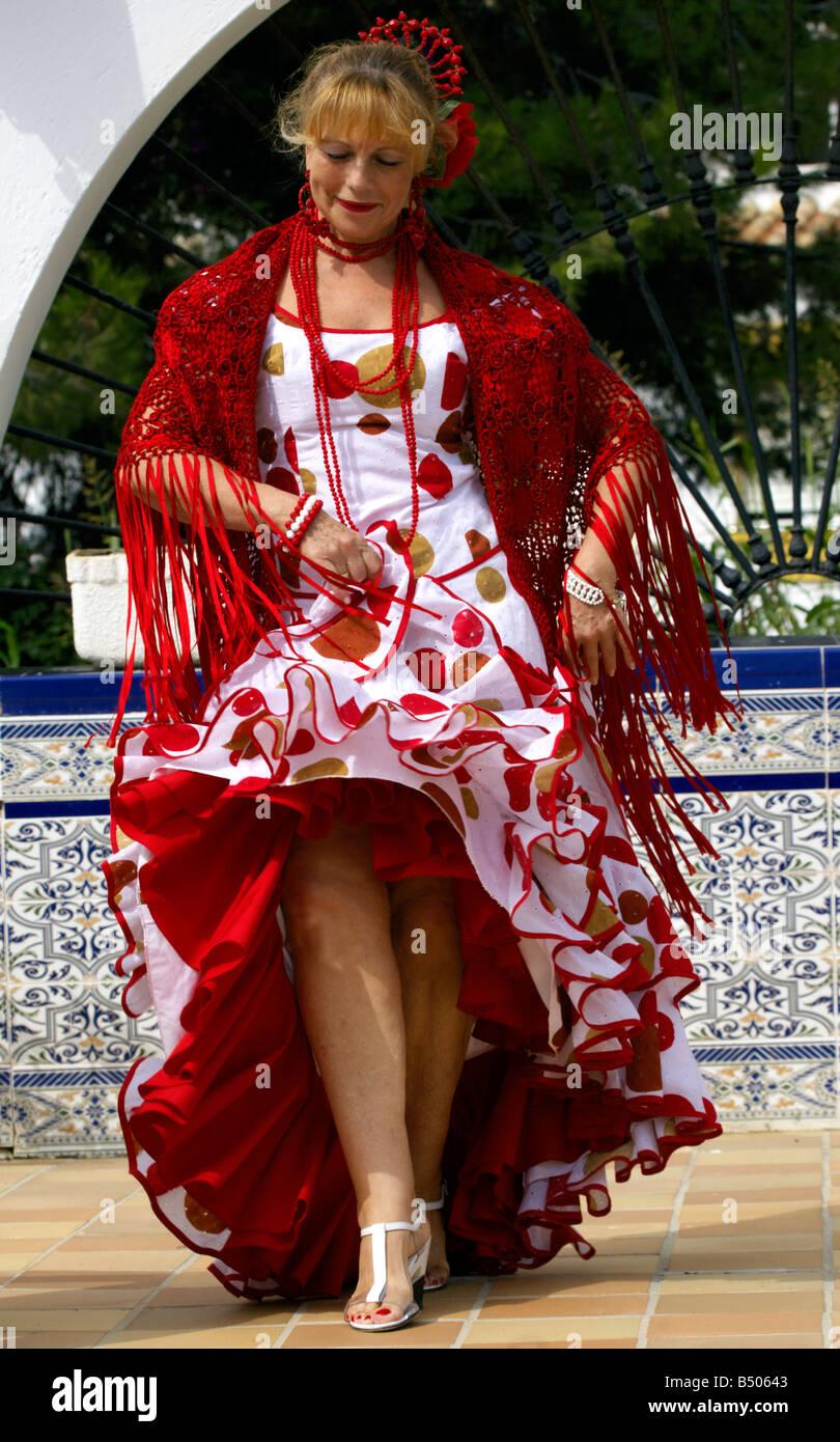 Spanish Costume Female Stock Photos Spanish Costume Female Stock