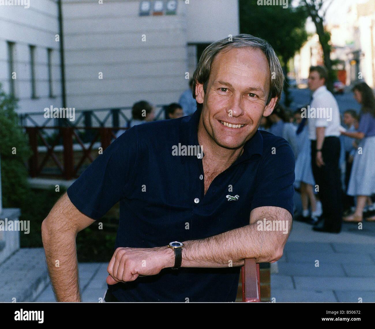 Mike D Abo Disc Jockey Singer Member of Manfred Mann pop group - Stock Image