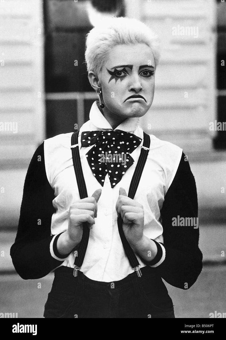 Siouxsie Sue from the group Siouxsie and the Banshees - Stock Image